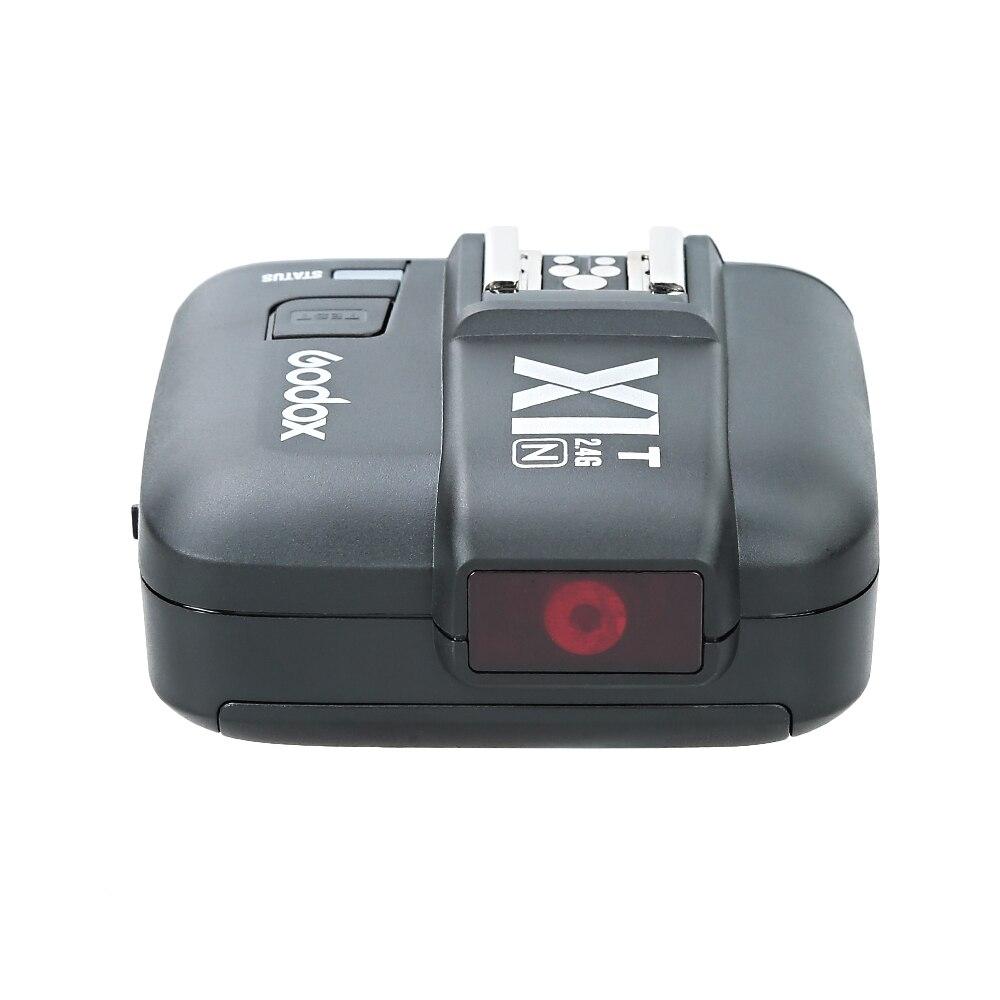 Uusim Godox X1N-T TTL 2.4 G traadita saatja komplekt Nikon D800 D3X - Kaamera ja foto - Foto 2