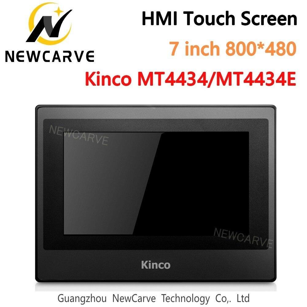 Kinco mt4434t mt4434te hmi tela sensível ao toque 7 Polegada 800*480 ethernet 1 usb host nova interface de máquina humana newcarve