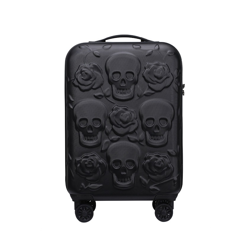Online Shop 2017 Travel Skull Luggage Cool Skull Luggage Suitcase ...