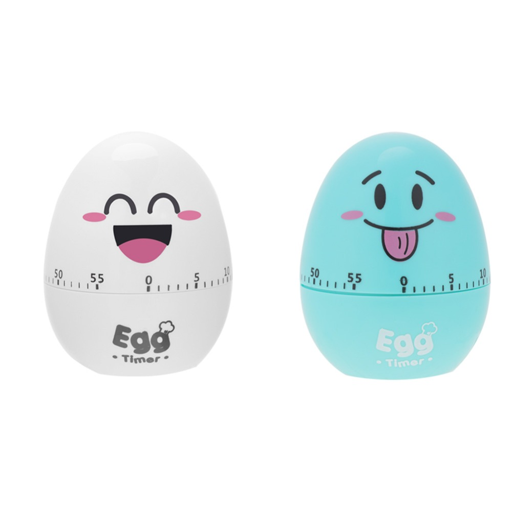Plastic Cartoon Cute Egg Manual Timer Kitchen Cooking ...