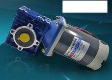 цена на DC24V 90W Motor Speed  Adjustable Speed Motor Worm Gear Positive and Negative Speed Control NRV Gearmotor 18rpm-240rpm