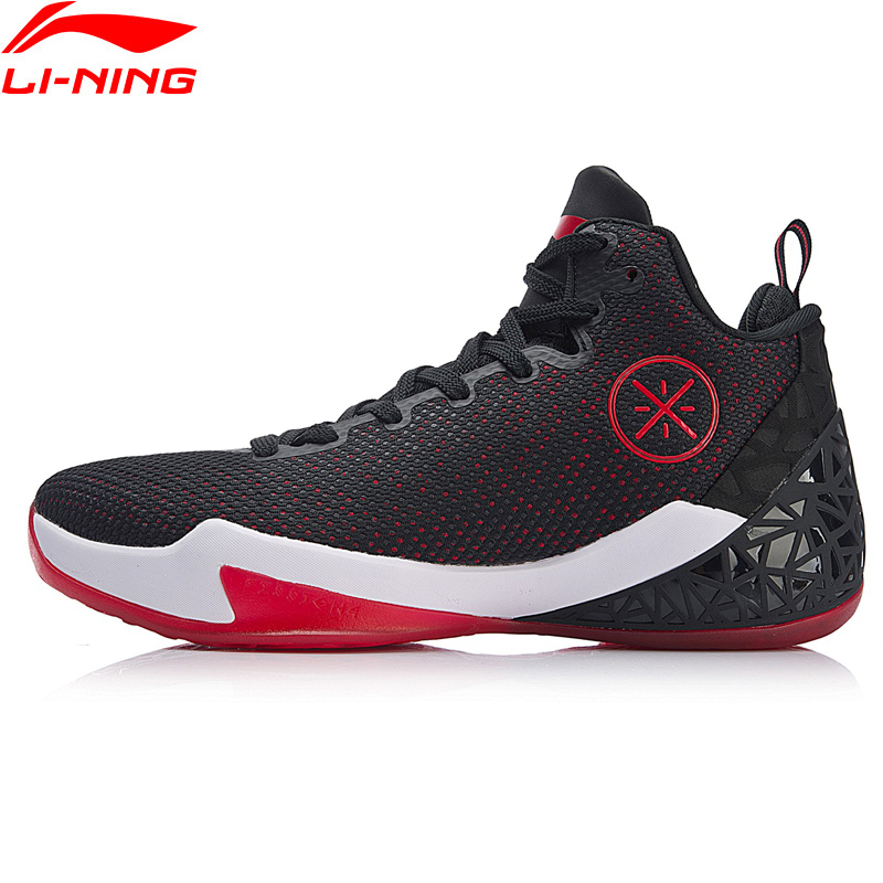 Li-Ning Men FISSION IV Wade Professional Basketball Shoes Cushion DYNAMIC SHELL LiNing Sport Shoes  Sneakers ABAN029 XYP712
