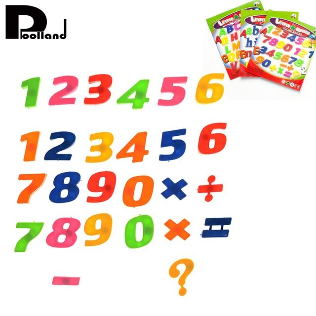 26 pcs Alphanumeric A Z Letters Numbers Refrigerator Fridge Magnet ...