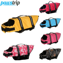 Oxford Breathable Mesh Pet Dog Life Jacket Summer Dog Swimwear Puppy Life Vest Қауіпсіздік Киім Иттер үшін XXS-XXL