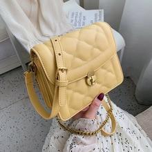 цены Female Crossbody Bags For Women 2019 Quality PU Leather Luxury Handbag Designer Sac A Main Ladies Lattice Shoulder Messenger Bag