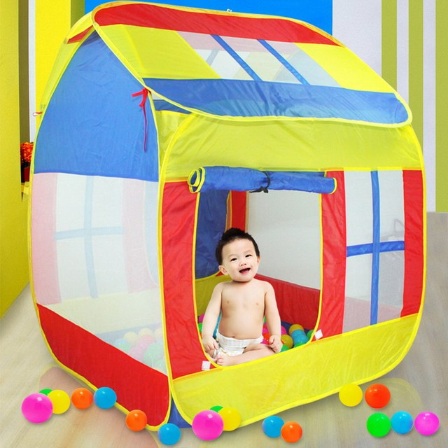 Large Children Play Tent House Kids Play Toy Tent Baby Kids Indoor Outdoor Toy House Beach  sc 1 st  AliExpress.com & Large Children Play Tent House Kids Play Toy Tent Baby Kids Indoor ...