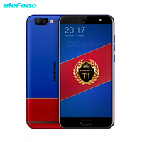 Ulefone T1 4G Global Version Smartphone 6GB+128GB 5.5 FHD P25 Octa Core Android 7.0 Dual rear cam 16MP+5MP 3680mah mobile phone
