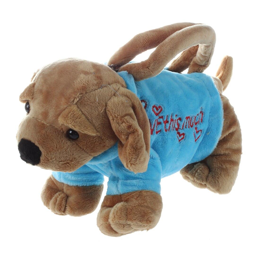 bolsa cachorrinho forma bonito stuffed Exterior : Nenhum