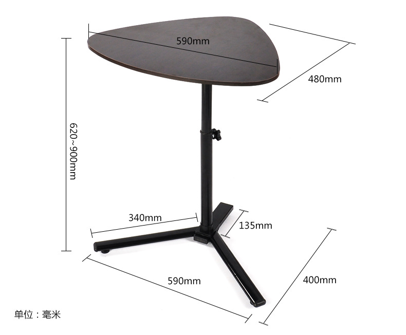59*48CM Multipurpose heart-shaped Coffee Tables tea table side table Laptop desk 59*48CM Multipurpose heart-shaped Coffee Tables tea table side table Laptop desk