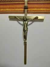 Wholesale religious supplies-Christianism Religious Christ Jesus's crucifixion copper Cross crucifix Emmanuel Immanuel-free ship