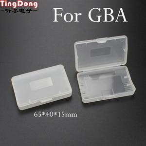 Image 1 - TingDong 20 ピースクリアプラスチックゲームカートリッジケース収納ボックスプロテクターホルダーニンテンドー GBA SP ゲームボーイゲームボーイ GBA