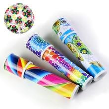 Игрушки-калейдоскопы вращаются caleidoscopio пластиковая бумага детский калейдоскоп для продажи запчасти игрушки античные солнцезащитные очки цветные очки