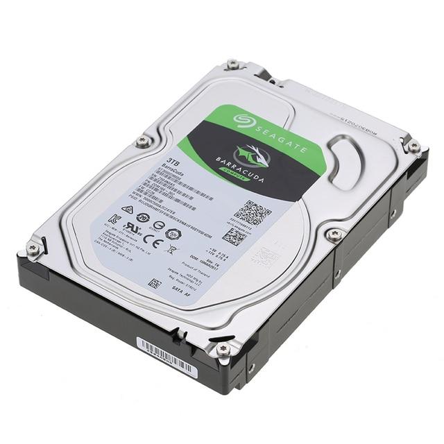 "Seagate 3TB Desktop HDD Internal Hard Disk Drive Original 3.5 "" 3 TB 5400RPM SATA 6Gb/s Hard Drive For Computer ST3000DM007 Internal Hard Drives"
