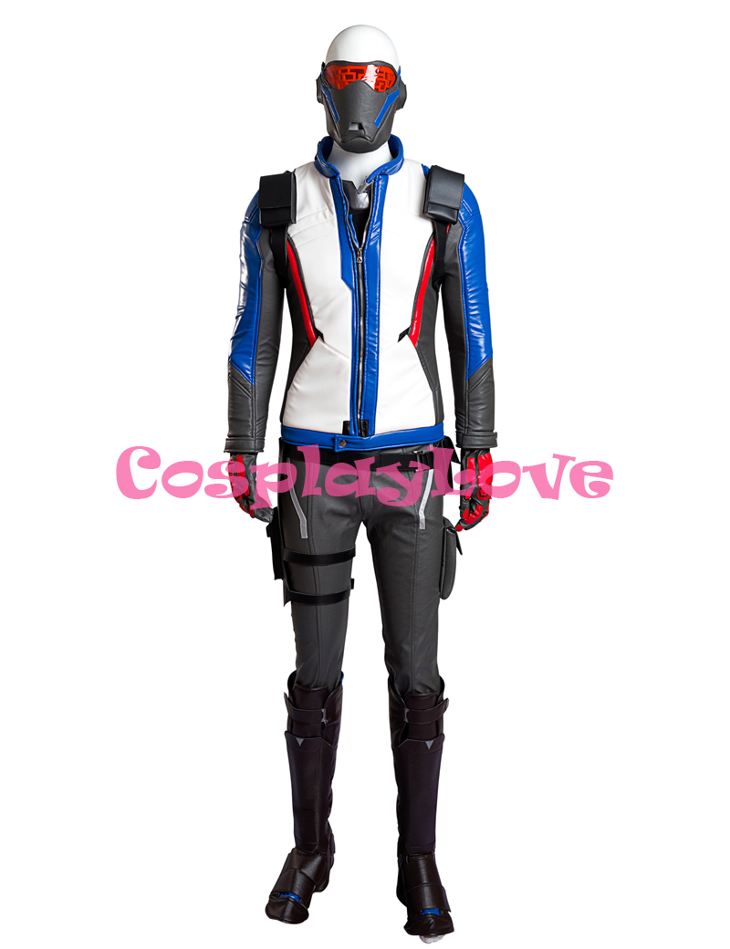 Hot 76 Soldier Cosplay Costume for Adult font b Men b font Halloween Party font b