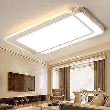 Новый современный светодио дный люстры для Гостиная спальня столовая светильник люстра потолочный светильник затемнения дома освещения luminarias