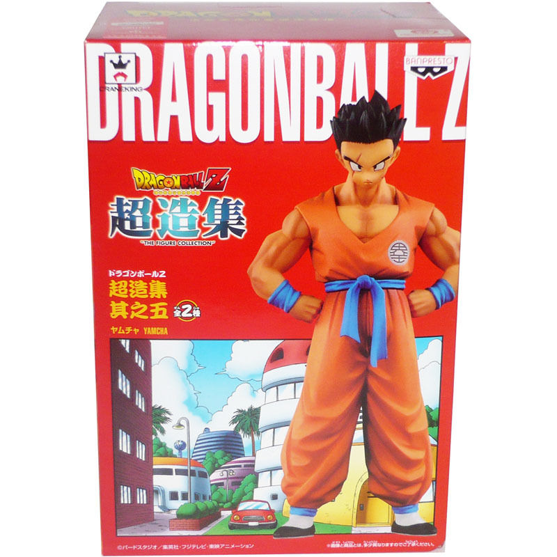 Japanese Anime DRAGONBALL Dragon Ball Z Original BANPRESTO Chozousyu Collection Figure Vol.5 - Yamcha чехол для планшета apple ipad pro 9 7 silicone case ocean blue mn2f2zm a