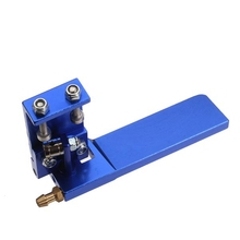 The new high quality 75mm Metal Suction Water Rudder For Remote Control RC Boat High Quality