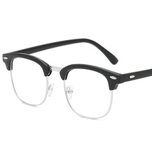 Classic half glasses frames optical for women men eyeglass eyewear unisex