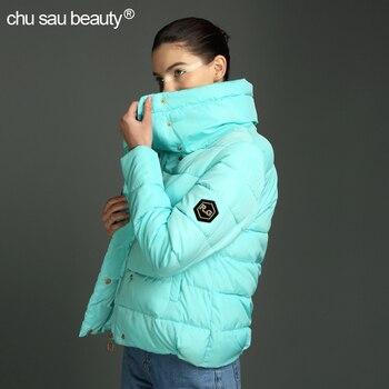 2018 新しい女性のコート 1950 s ファッション秋冬女性ダウンジャケット