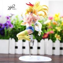 Anime Nisekoi Kirisaki Chitoge 1/8 Scale PVC Pre-painted Figure Collectible Model Toy 23cm