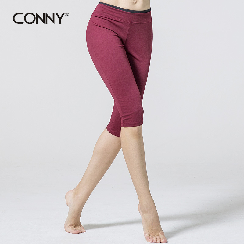 2015 Summer New Conny Brand Women Yoga Zumaba Bottoms Studio Sport Gym Jogger Running Tights ...