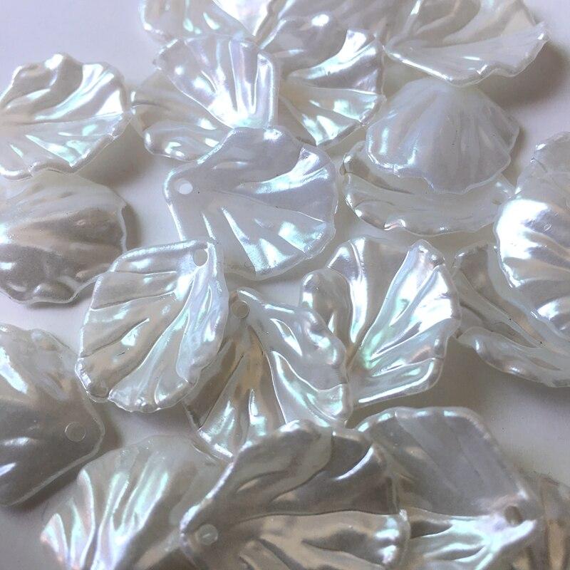 Meideheng ABS Parelblaadjes Hangend gat Oorringen hangers accessoires - Mode-sieraden - Foto 3