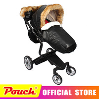foofoo Luxury high landscape shock strollers can sit reclining stroller baby stroller two way dual summer with car seet