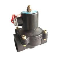 Free Shipping 1 1 inch Solenoid valve water valve N/C 2 way Air Oil gas 2W250 25 12V 24V 220V electromagnetic valve