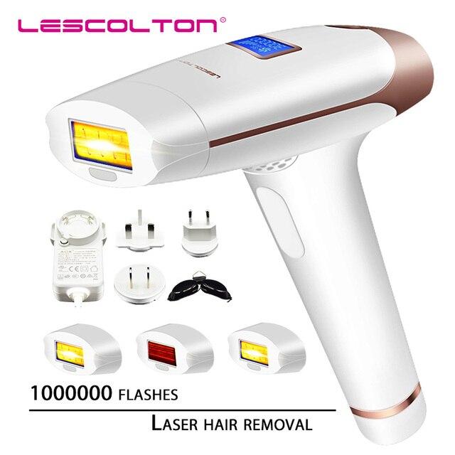 Lescolton T009X Depilador a  laser IPL Hair Removal LCD Display Machine Laser Permanent Bikini Trimmer Electric depiladora laser