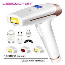 Lescolton depilador a laser t009x, removedor de pelos ipl a laser, máquina lcd, aparador para usar biquini
