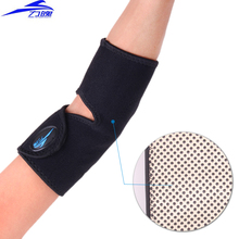 Tourmaline self-heating elbow guard far infrared magnetic therapy thermal elbow support 1 pair