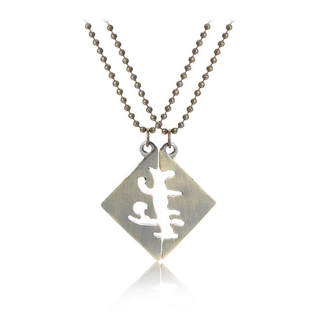 The Mortal Instruments City Of Bones Best Friends Necklace Vintage