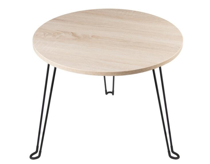 29*22CM Mini round table Small folding tea table side table
