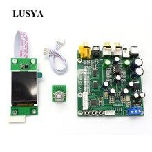 Lusya ES9038 Q2M DAC DSD Decoder Support IIS DSD Coaxial Fiber input 384KHz DOP with OLED D5 001