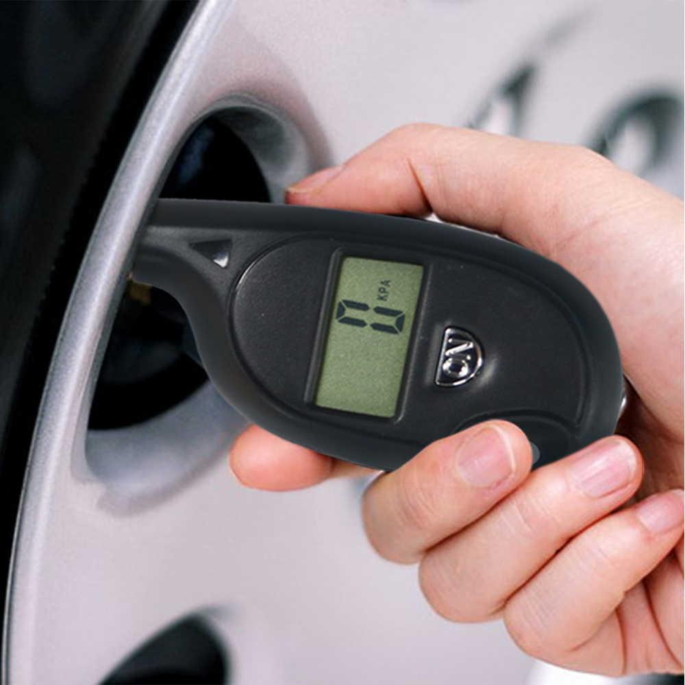 3-150PSI 診断ツールデジタル液晶ディスプレイプラスチックタイヤ空気圧ゲージ車両オートバイアウディ車のテスター