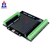 Proto Screw Schild Bord Entwicklung Modul für Arduino Open-Source-Reset-Taste D13 LED Modul Expansion Board(China)