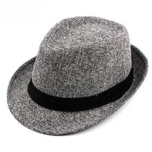 d2ddd540484f8 HT1750 New Autumn Winter Fedoras Men Women Casual Trilby Bowler Hats Unisex  Black Band Jazz Hats