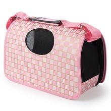 Для питомцев на прогулке дорожная сумка-переноска с принтом Портативная Сумка На Открытом Воздухе Одиночная сумка на плечо для маленькой собаки кошки PB719