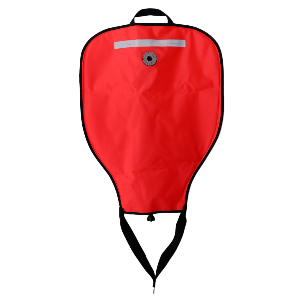 Deluxe Nylon 50lbs Salvage Lift Bag With Dump Valve Scuba Swimming Diving Water Sports SCUBA Snorkeling Accessories