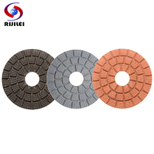купить RIJILEI 10PCS/Set 3inch Diamond Polishing Pads 80mm Wet polishing pad for Marble Granite stone concrete floor Polish tools HF04 в интернет-магазине