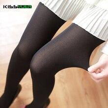 KISSyuer Чистый цвет 100D 140D бархат зимой колготки бесшовные Танец колготки Женщины лолита колготки KS044(China (Mainland))