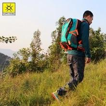 Samstrong 35L Hiking Camping Backpack Weekend csomag Vízálló esőburkolat és laptop rekesz Utazási hátizsák sporttáska