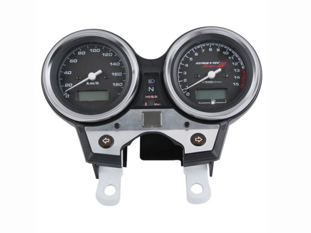 Motorcycle Tachometer Speedometer Meter Gauge Moto Tacho Instrument clock case for HONDA CB400 SF VTEC III 2004 2005 2006 2007 new abs plastic speedometer gauge case cover tachometer for kawasaki ninja zx10r 2004 2005
