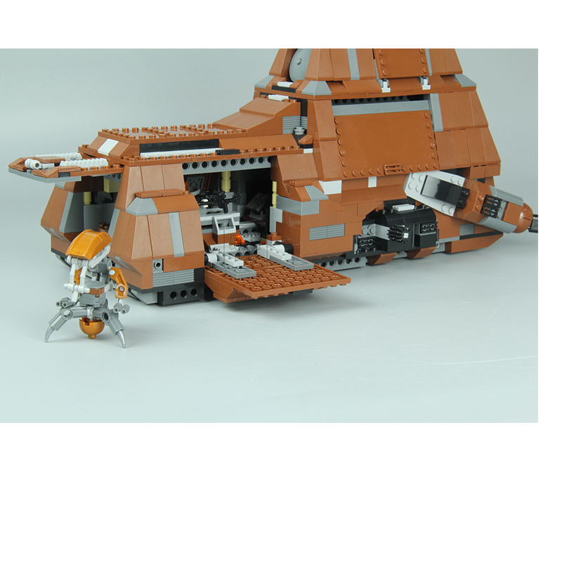 Dhl Lepin 05069 Star Wars Series The Federation Transportation Tank