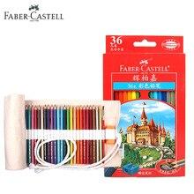 Купить 36 Цвета Faber-Castell масляная основе Цветные карандаши Премиум цветные карандаши для рисовать с Сумка для хранения