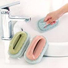 Clean Detergent Bath, Brush Tile, Brush Kitchen, Wash Pot, Wash dishes, Brush Sponge, Brush Sponge Block