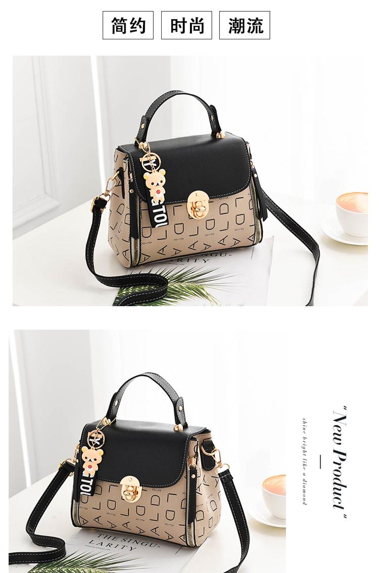 Popular Woman Handbags Fashion Leather Messenger Bag Trendy new one-shoulder diagonal small square bag Bolsa Feminina louis gg 53