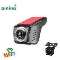 Ainina Due telecamere nascosta mini 1080P wifi macchina fotografica dell'automobile dvr, visione notturna WiFi della Macchina fotografica del precipitare