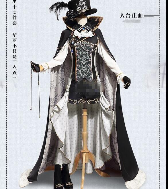 Черный Дворецкий Ciel Phantomhive мечта 100 Защита от солнца rise moo rise sin Пробуждение косплэй костюм новая ткань бесплатная доставка