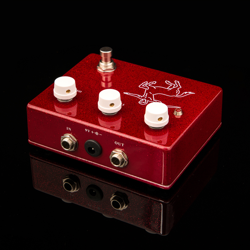 KLON Centaur overdrive Guitar Effect Pedal Professional Overdrive Effect pedal Red Musical instrument accessories